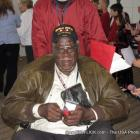 An African-American World War II Veteran In Washington DC to visit the Memorial.