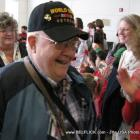Look smile World War II veteran