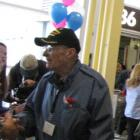 World War II veteran greeting