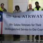 US Airways says: We Salute Veterans for their distinguished service to our country