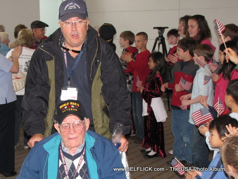 US Airways Honor Flight to DC
