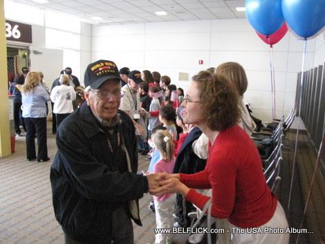 US Airways Honor Flight to DC