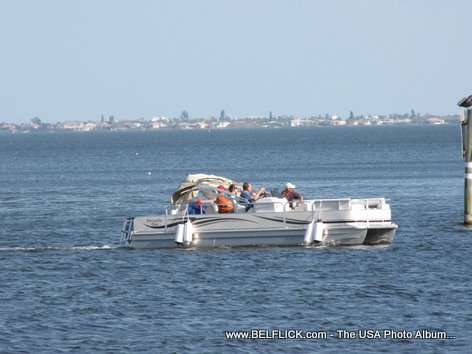 Boat Cruise On The Indian River, Palm Bay Florida