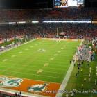 football game dolphin stadium