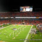 Football Game At Dolphin Stadium Miami