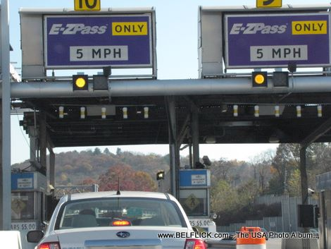 EZ Pass Tappan Zee Bridge