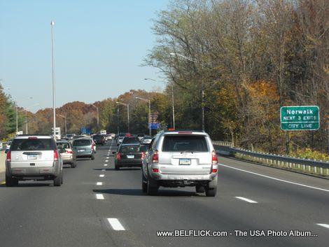 Norwalk Connecticut, Next 3 Exits, City Line