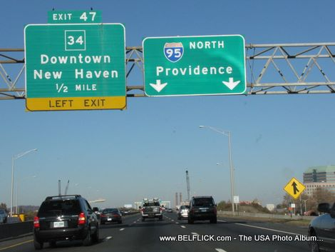 Downtown New Haven Ct Providence Ri I95