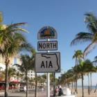 North A1A Street Sign Fort