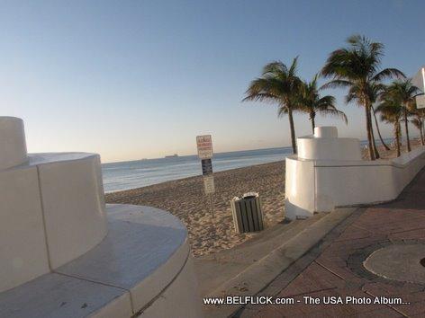 Las Olas Sandy Beach Fort Lauderdale Florida