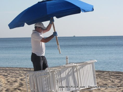 Beach Umbrellas Fort Lauderdale Florida