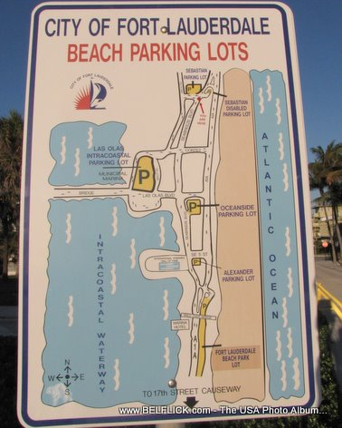 City Of Fort Lauderdale Beach Parking Lots