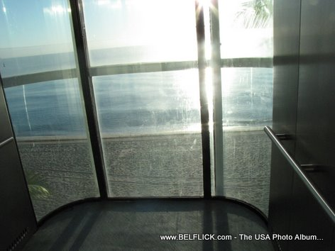 Elevator To The Beach Fort Lauderdale Beach Florida