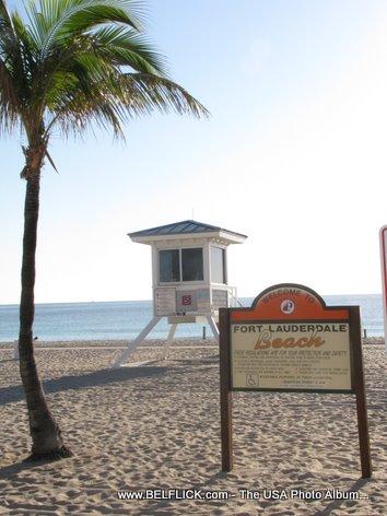 Fort Lauderdale Beach Lifeguard Station
