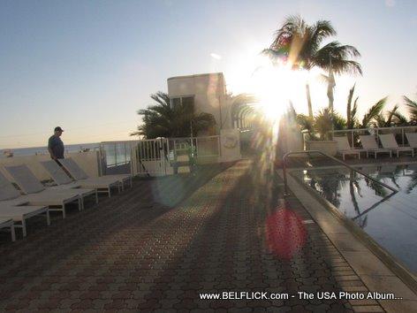 Westin Hotel Beach Resort Patio Harbor View Fort Lauderdale Beach Florida