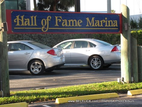 Hall Of Fame Marina Fort Lauderdale Florida