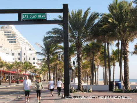 Las Olas Boulevard Fort Lauderdale Florida