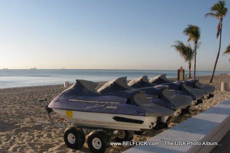 Jetskis Fort Lauderdale Beach