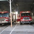 Las Olas Fire Station Firetrucks