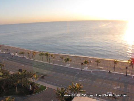 Sunrise On The Beach Fort Lauderdale Beach Florida