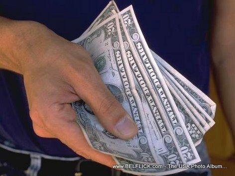 Money A Handful Of Money