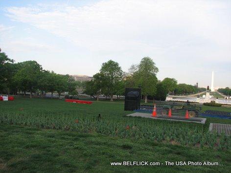 United States Capitol Front Lawn Washington DC