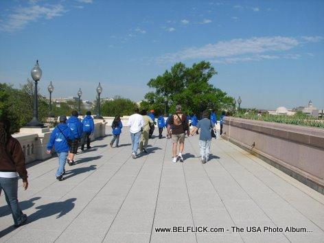 Students Visiting The United States Capitol Building