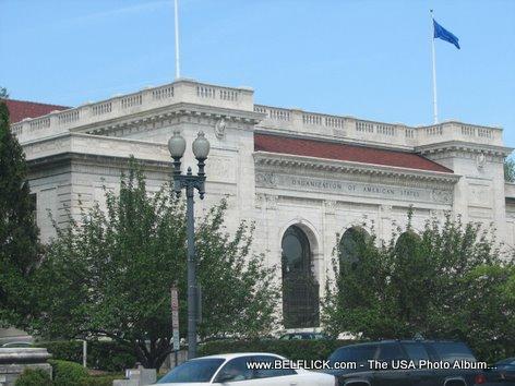 OAS Building Organization Of American States Washington DC