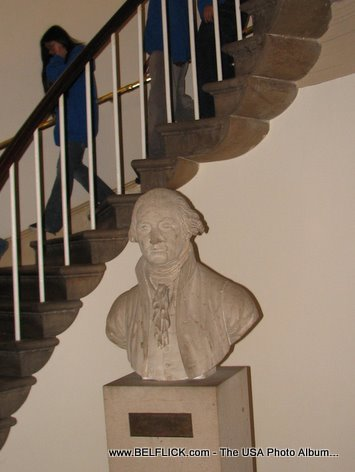 Georges Washington Statue Inside The United States Capitol Building