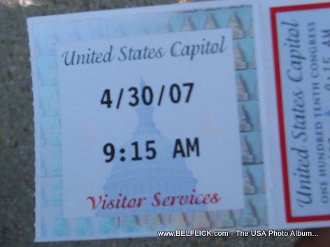 Tickets To Visit Capitol Hill United States Capitol Building