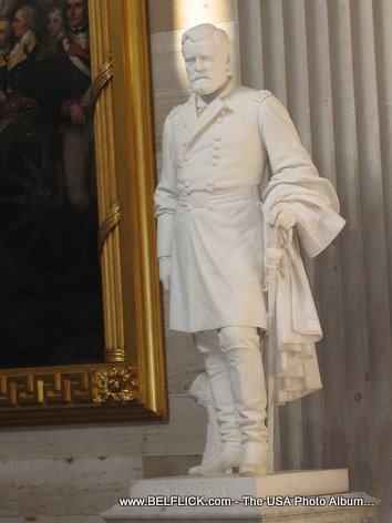 Ulysses S Grant Statue Inside The United States Capitol Building