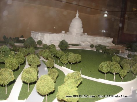 United States Capitol Building Miniature Replica