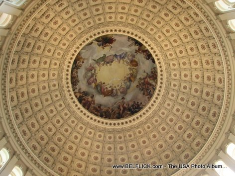 The United States Capitol Dome Inside Look