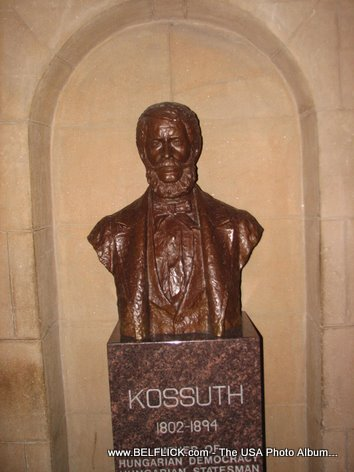Louis Lajos Kossuth Statue Inside The United States Capitol Building