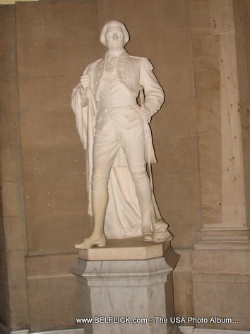 Peter Muhlenberg Statue Inside The United States Capitol Building