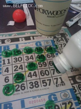 Bingo Night At Foxwoods Casino